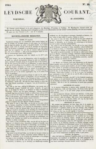 Leydse Courant 1844-08-28