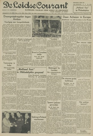 Leidse Courant 1950-05-08