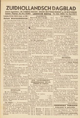Zuidhollandsch Dagblad 1944-10-28