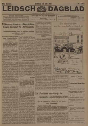 Leidsch Dagblad 1940-06-22