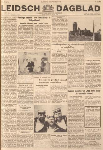 Leidsch Dagblad 1949-09-10