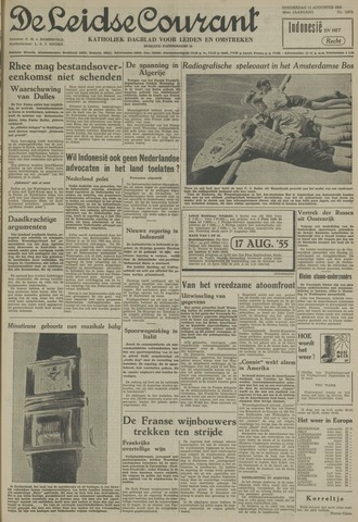 Leidse Courant 1955-08-11