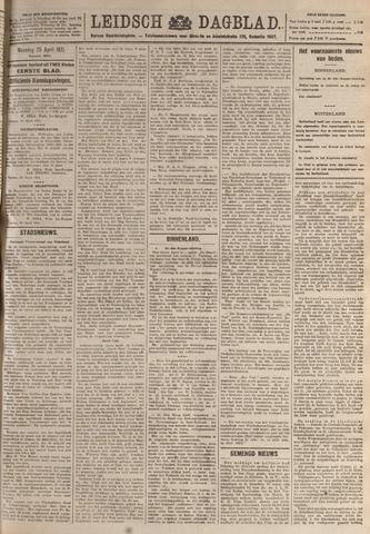 Leidsch Dagblad 1921-04-25