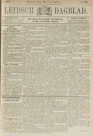 Leidsch Dagblad 1892-12-29