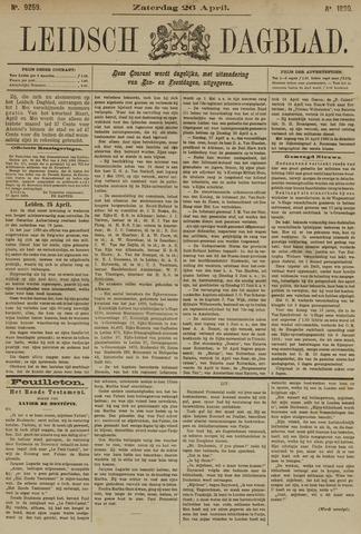 Leidsch Dagblad 1890-04-26