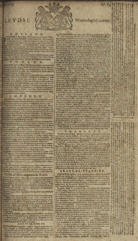 Leydse Courant 1765-05-29