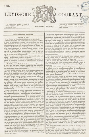 Leydse Courant 1852-06-30