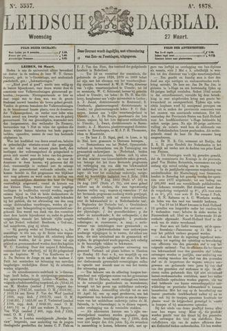 Leidsch Dagblad 1878-03-27