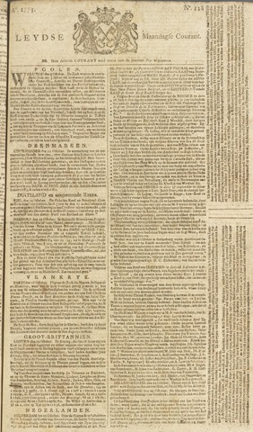 Leydse Courant 1773-10-25