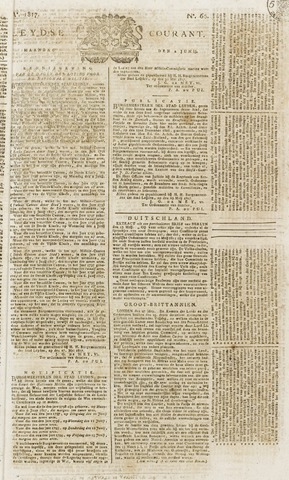 Leydse Courant 1817-06-02