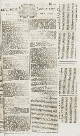 Leydse Courant 1824-08-20