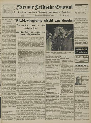 Nieuwe Leidsche Courant 1938-11-15
