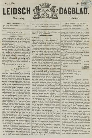 Leidsch Dagblad 1868-01-08
