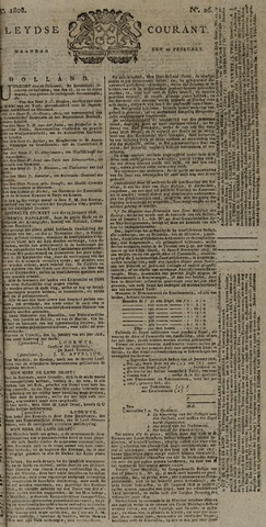 Leydse Courant 1808-02-29