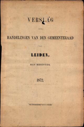 Handelingen van de Raad 1872-01-01