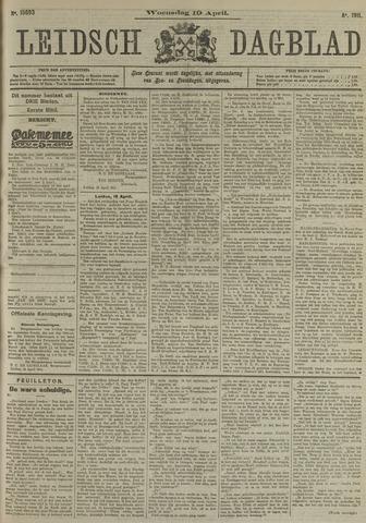 Leidsch Dagblad 1911-04-19