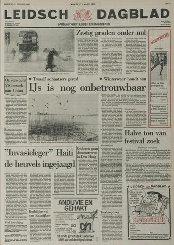 Leidsch Dagblad 1982-01-11
