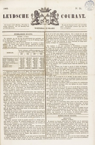 Leydse Courant 1862-03-12