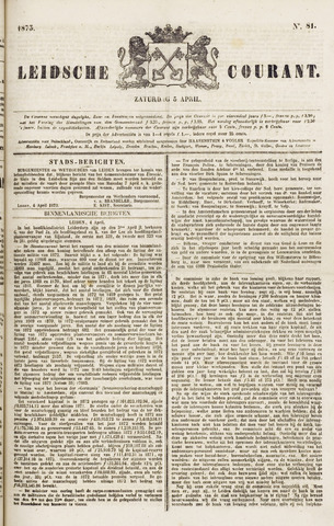 Leydse Courant 1873-04-05