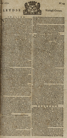 Leydse Courant 1751-02-26