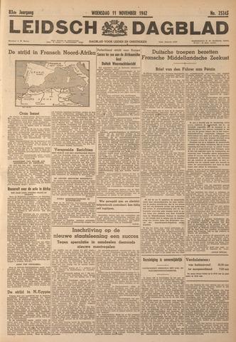 Leidsch Dagblad 1942-11-11