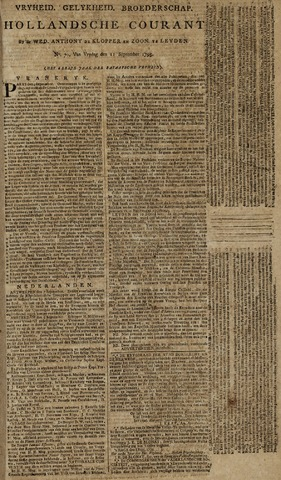 Leydse Courant 1795-09-11