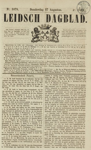 Leidsch Dagblad 1863-08-27