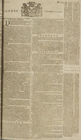 Leydse Courant 1772-10-09