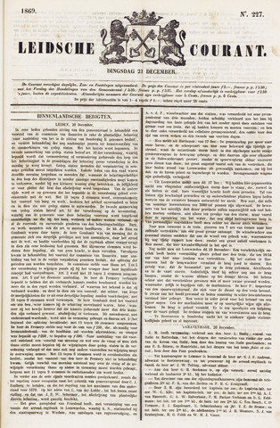 Leydse Courant 1869-12-21