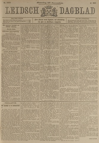 Leidsch Dagblad 1907-11-25
