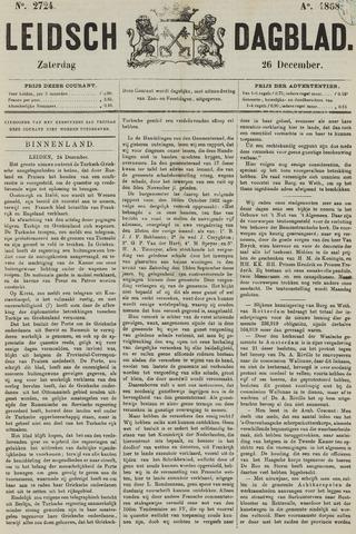 Leidsch Dagblad 1868-12-26