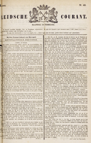 Leydse Courant 1883-02-19
