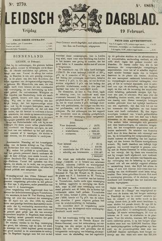 Leidsch Dagblad 1869-02-19