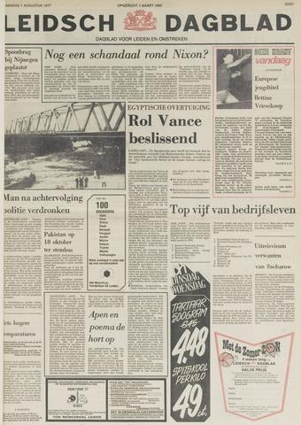Leidsch Dagblad 1977-08-01