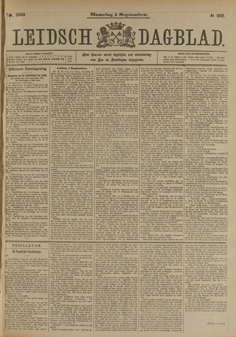 Leidsch Dagblad 1902-09-01