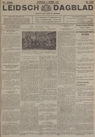Leidsch Dagblad 1937-10-07