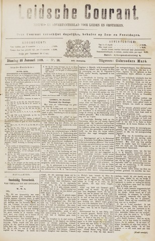 Leydse Courant 1889-01-22