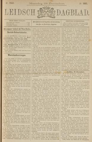 Leidsch Dagblad 1885-12-28