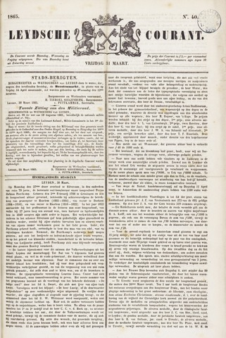 Leydse Courant 1865-03-31