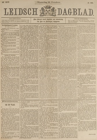 Leidsch Dagblad 1901-10-21