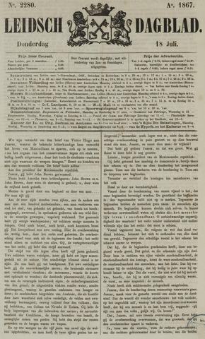 Leidsch Dagblad 1867-07-18