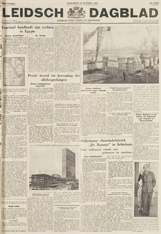 Leidsch Dagblad 1951-10-10
