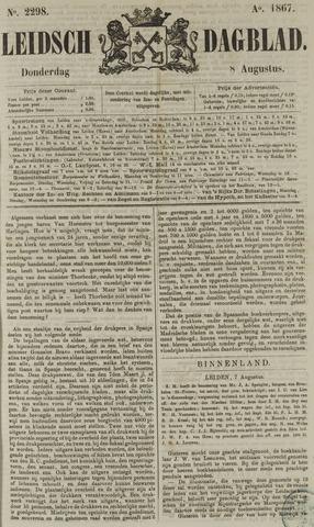 Leidsch Dagblad 1867-08-08