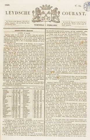 Leydse Courant 1860-02-01