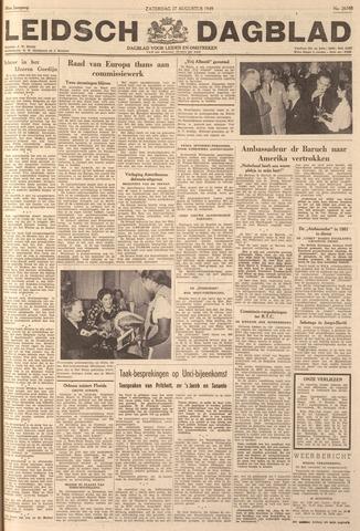Leidsch Dagblad 1949-08-27