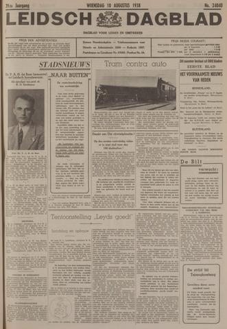 Leidsch Dagblad 1938-08-10