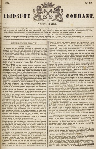 Leydse Courant 1872-04-12