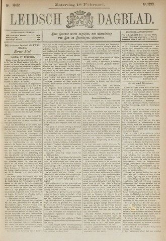 Leidsch Dagblad 1893-02-18