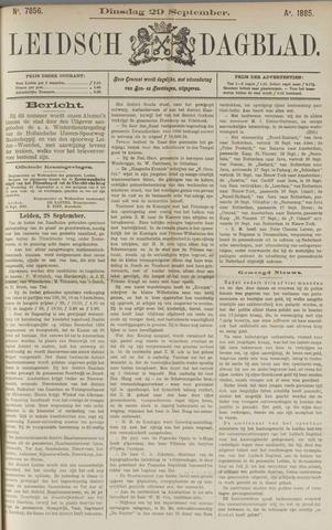 Leidsch Dagblad 1885-09-29