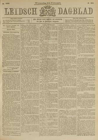 Leidsch Dagblad 1904-02-24